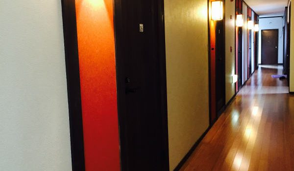 廊下改修工事 完成
