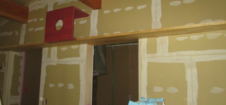 パテ処理・塗り壁Sto工法