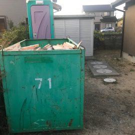 浸水被災住宅 復旧工事
